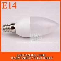 10pcs/lot LED candle light 2835SMD bulb lamp High brightnes 3W 4W 5W E14 AC220V 230V 240V Cold white/warm white Free Shipping