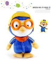 Recommended Korea Pororo Little Penguin Plush toys doll dolls personality gift for children cartoon, Size 28cm Factory wholesale