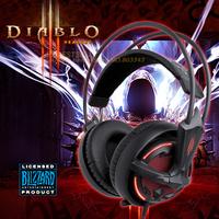 Diablo III  version  Steelseries Siberia V2 Gaming Headphone, Free shipping  Headphone Drop shipping