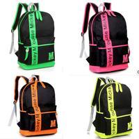 2013backpack fashion student Korean women bag schoolbag Casual Backpack School Backpack couple students school backpack