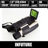 full 1080p HD binocular digital camera with 2.0'' TFT display  FS-608 free shipping