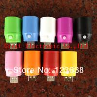100pcs,Colorful creative usb led lighting lamp portable usb flashlight night lamp light cellphone laptop power,free shipping