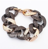 Free Shipping Gold Plated CCP European Brand Women Bracelet Wholesale and Retail