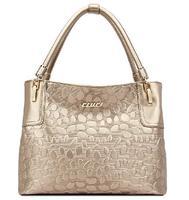 free shipping  2013 new women leather handbags bag women messenger bag Vogue and  big brand handbag fashion stone pattern bag