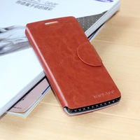 10pcs Lot Top Grade Brand Leather Mobile Phone Bags & Cases For OPPO Find 5 X909 Folio Cover 6 Colors Free Shipping Wholesales