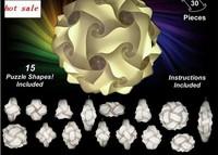 wholesale free shipping iq puzzle lamp iq jigsaw lights M size 300pcs per lot iq light