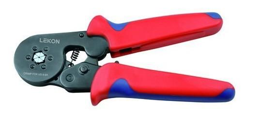 Cable End-sleeves Crimping Plier Self Adjusting Ratcheting Ferrule Crimper AWG24-10 HSC8 6 6(China (Mainland))
