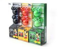 Cute Cartoon 6 Candy Color Air Freshener Perfume Diffuser for Auto Car perfume holder 2PCS/lot  free shipping