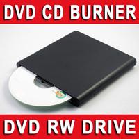 50pcs WHOLESALE - External USB 2.0 SLOT LOAD DVD+/-RW CD+/-RW DVD-ROM CD-RW DVD-RW DL Writer Burner Copier Rewriter Reader Drive