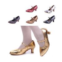 Free Shipping Gorgeous Women's Lidies Elastic Modern Waltz  Fox Trot Ballroom Dance Shoes MD229 Heel High 5cm