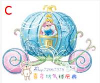 Anagram aluminum foil balloon princess pumpkin car birthday wedding hydrogen helium