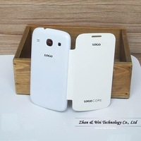200% High Quality!!! Original Battery Housing Case For Samsung Galaxy Core I8260 I8262 GT-I8262 Flip Leather Back Cover Cases