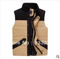 Free Shipping Autumn -Summer Fashion Winter Jacket Sport Vest Men Coat Waistcoat Jackets For Men Casual Outdoor Jacket BumpColor