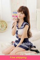 Women's school wear uniform Sexy costumes women matelot set sexy pleated short skirt erotic lingerie