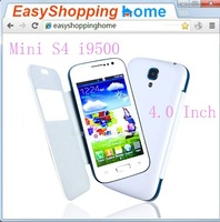 New Arrival Free Hard Case 4.0 inch Mini i9500 S4 Spreadtrum SC6820 Android 4.2 1GHZ SmartPhone Capacitive Screen anS4p40Mz0