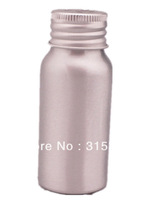 30ml empty aluminum  Bottles, sliver metal bottle with Lined Aluminum Silver Lid