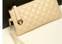 New 2014 women's High-quality Candy Color wallet PU Leather Handbags Carteira Long Design Women Wallets Purse Handbag