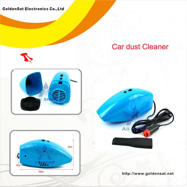 Mini Powerful Portable Car Vacuum Cleaner Car Dust Collector Cleaning DC12V color aspiradora aspirapolvere stofzuiger polynimuri(China (Mainland))
