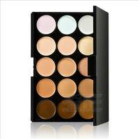 WHOLESALE 384 SETS/LOT New 15 Colors Professional Makeup Concealer Camouflage Bronzer Cream Palette Kit
