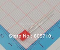 2X5X7 rectangular led diode, Super bright Red 1.8-2.0V 20mA 645nm 15-20mcd 2000PCS/LOT