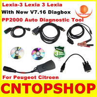 2014 New Released Lexia-3 PP2000 Citroen Peugeot Professional Scanner V7.16 Diagbox Lexia  PP2000 v48 v24 Lexia 3 Multi-Language