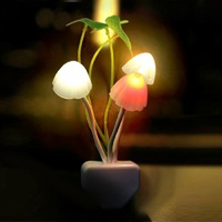 Dream Mushroom Night lights LED Table Lamp  Mushroom Lamp Energy Saving Light Electric Induction