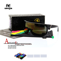 Free shipping brand Conjoined len Vonzipper BIONACLE with Original box sport Sunglasses men gafas oculos de sol AE0069