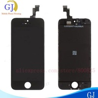 For iphone 5S lcd touch screen Digitizer Assembly ,1000% test and 1000% good quality , color Black&White ,free shipping