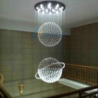 2014 Lustres De Sala Lustre Luminaria Brief Led Crystal Pendant Light Living Room Lights Restaurant Lamp Lighting Stair 8632