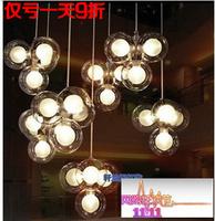 Pendant Light Pendant Lamp Lustres De Sala Nordic Brief Modern Led Entrance Bubble Ball Lighting Stair Bar Lamps Personality