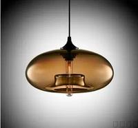 2014 Sale Promotion Lustre 1212 Personalized Glass Ball Pendant Light Living Room Lights Modern Brief Led Restaurant Stair Lamp