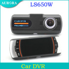 2013 Newest LS650W Car DVR Camera Full HD 1920*1080P 30FPS Supper Night Vision 2.7'' LCD H.264 G-Sensor Free shipping(China (Mainland))