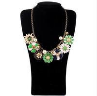 Fashion accessories short design little daisy flower necklace accessories pendant necklaces pendants best friend