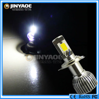 2 sets/lot the third generation super bright Newest product of car 42W 3600Lm h4 high power led headlight
