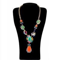 Fashion accessories medium-long pendant gem women's necklace accessories pendant necklaces pendants best friend