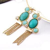 (mix order) Free Shipping & Fashion earrings accessories female tassel earrings  TN-7.99