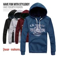 2014 men clothing autumn&winter pullover hoodies sweatshirt tracksuits hoody moleton masculino supreme hoodie men sportswear
