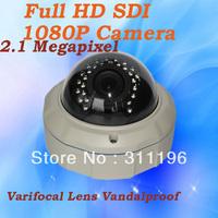 Dome Camera HD SDI Full HD 1080P CMOS Sensor 1100TVL Megapixels lens 2.8-12mm CCTV Security Camera system