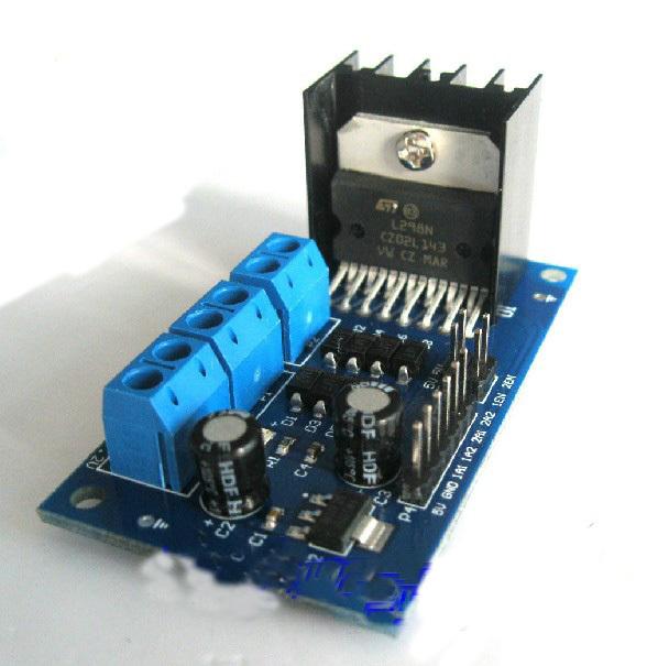 F07265 L298 DC Stepper Motor Drive Controller Smart Car Motor Drive Module(China (Mainland))