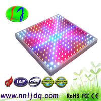 Quad-band 14W LED Grow Light Panel 14 watt 225*0.06w Hydroponic Plant Lamp Blue 460nm Red 630nm Orange 610nm White 14000K