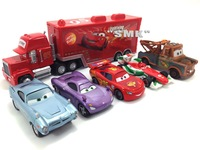 Free shipping,1set=6pieces,Pixar Cars 2 alloy model cars,Children's toy cars,Chrismas gift,CAR40