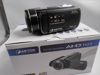 AIPTEK 1080P HD Video Camera 23x Optical Zoom Digital + 8GB SDHC Card