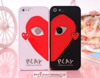 Free Shipping Plastic hard Case For iPhone 5C 5G 4G Japan PLAY Case for iphone 5 4s Fashionable Brand Lover and Hot Design