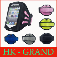 Workout Sport ArmBand Case Cover For iPhone 4g 4s 5g 5s Universal Running Sports Armband for samsung galaxy s4 mini s3mini