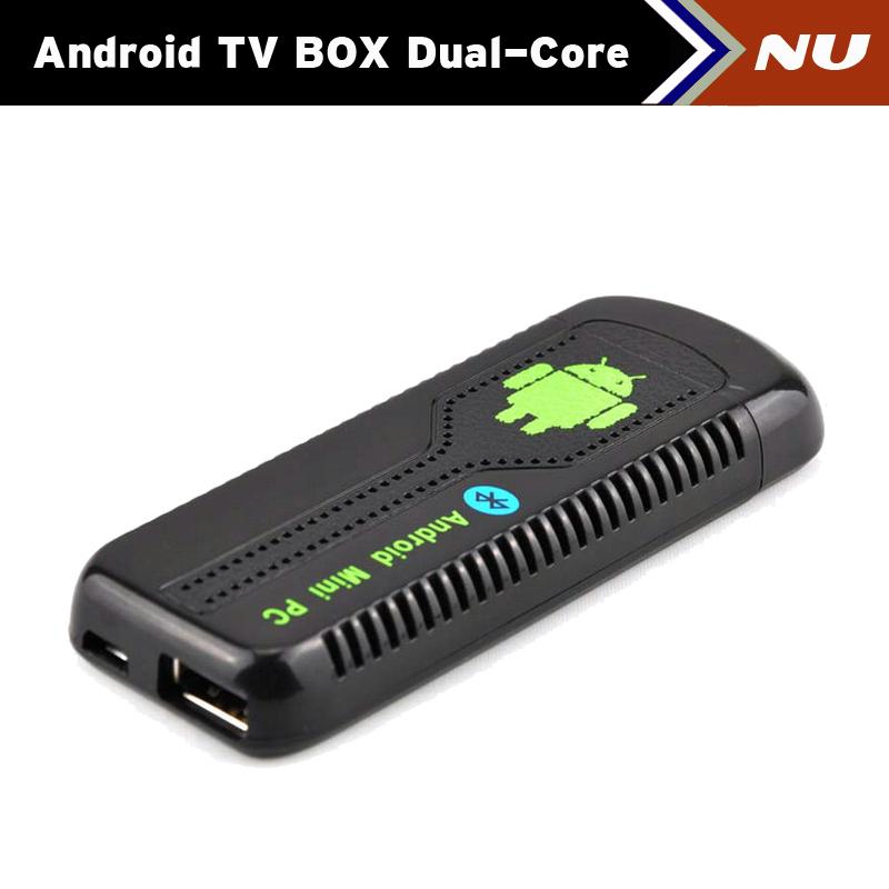 New Bluetooth UG007 II Mini PC Android 4.1 Google TV Dongle Dual Core Cortex A9 WiFi 1080P 1GB 8GB 3D UG007II Free Shipping(China (Mainland))