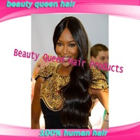 Middle parting wigs & lace front  for black women free shipping in stock