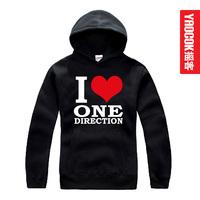 One-way one direction band zayn malik thickening with a hood sweatshirt
