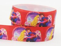 "New Arrival 22mm Princess and Prince 7/8"" Grosgrain ribbon Printed DIY Accessories (50 yards 1 lot) X-1332 Free shipping"