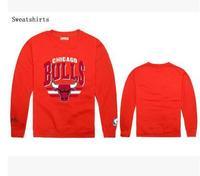 Sweatshirt bulls o-neck sweatshirt popular hiphop Men plus velvet