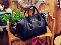 Women's bag 2013 women's fashion brief crocodile pattern shoulder bag leather bag handbag free shipping -001